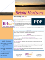 Bright Horizons - BHcare Newsletter