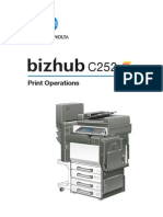Bizhub c252 Um Print-operations en 1-1-0 Phase3
