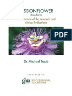 A Research Review of Passionflower