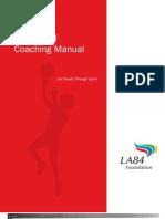 Basketball Coaching Manual