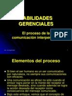 El Proceso de Comunicacion Interpersonal