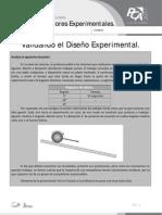 FICHA 2, VALIDANDO EL DISEÑO EXPERIMENTAL