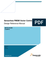 DEsign Reference Manual Sensor Less PMSM Vector Control