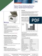 Datasheet MiniLab E