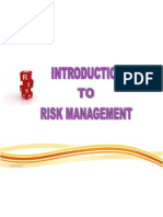Isbm - 1- Introduction to Risk Management