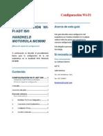 Configuración Wi-Fi HandHeld MC9090