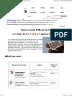 Make PCBs at Home With Maga