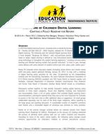 The Future of Colorado Digital Learning
