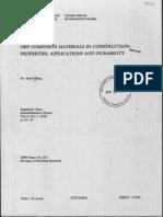 GRP - Material Properties