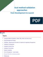 Analytical Method Validation 21 Jul