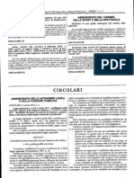 CIRCOLARE 12 Marzo 2012, n.6 Dell' Assessor a To Delle Autonomie Locali e Della Funzione Pubblica