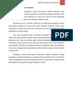 2.0 Model Pengajaran Kumpulan