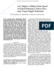 Iemdc2011-Passivity-Based Adaptive Sliding Mode Speed Control of Switched Reluctance Motor Drive Considering Torque Ripple Reduction