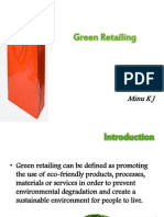Green Retailing Final