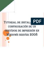 Tutorial de instalación y configuración de un servidor