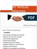 Joint Venture Alliance
