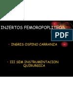 INJERTOS FEMOROPOPLITEOS