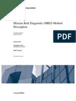 Mission Risk Diagnostic (MRD) Method Description