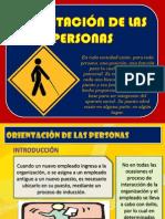 9 ORIENTACIÓN DE LAS PERSONAS