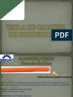 Tabla de Calibres de Conduct Ores