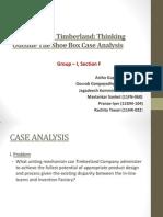 OB Presentation-Timberland Case