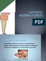 5.- Lactancia Materna y Apego