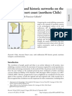 Ballester y Gallardo - 2011 - Prehitoric and Historic Networks on the Atacama Desert Coast