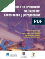 La formación de profesores en Colombia