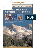 CNHG Sierra Nevada Natural History