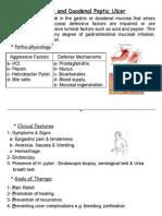 Peptic Ulcer Presentation