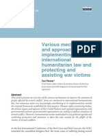 Various Mechanisms and Approaches for Implementing International Humanitarian Law And