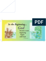 Pages From In The Beginning God