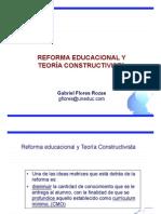 Reforma Educacional y Teoría Constructivista
