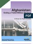 Afghanistan:Ending a Failed Military Strategy