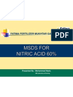 Presentation MSDS Nitric Acid