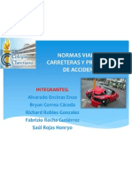 Normas Viales en Carreteras y Prevencion de Accidentes