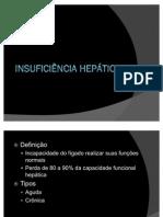 INSUFICIÊNCIA HEPÁTICA