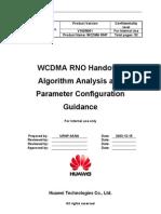 WCDMA RNO Handover Algorithm Analysis and Parameter Configurtaion Guidance-20050316-A-1.0