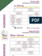 Franja Morada - HorariosCP