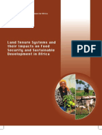 Land Tenure Systems