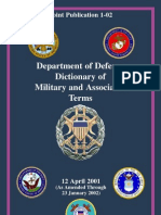 US ARMY - Dictionary of Military Terms.