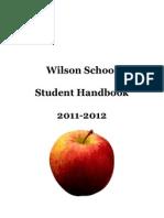 Wilson School Student Handbook 2011-2012