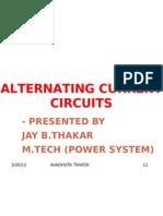 Alternating Current R-l-c Series Circuits
