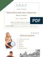 Elaborazione Diete Vegetariane Bari ABAP Master Set 010