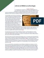Criticii postmoderni ai Bibliei şi arheologia recentă