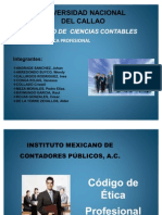 Diapositivas Del Codigo de Etica Mexicano (Final)
