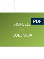 Biofuels in COLOMBIA