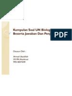 Kumpulan Soal UN Biologi