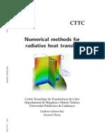 Numerical Methods for Heat Transfer