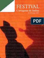 HayFestivalCartagena 2012_programa